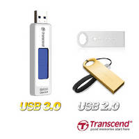 USB Flash Drives provide up to 64 GB capacity.