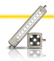 Heavy-Duty LED Lights resist oil, chemicals, and water.