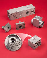 Custom Valve Components assure tight sealing.
