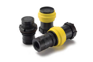 Parker's PF Series Non-Spill Thermoplastic Couplings Safeguard the Transfer and Dispensing of Hazardous and Aggressive Chemicals