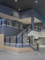 Banker Wire Weaves Sophistication with Fun for Railing at Manatee Technical Institute