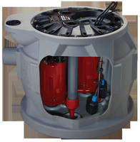Duplex Grinder System serves residential sewage applications.
