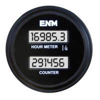 LCD Hour Meter/Counter suits maintenance applications.