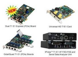 T1 E1 Analyzer System offers multiple platform applications.