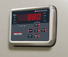 Digital Weight Indicator offers over 20 setpoints and actions.