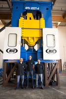 MJC Builds Multi-Axis Rotary Forging Machine for Advanced Research in Aerospace... 90 Percent Material Savings Possible