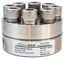 Back Pressure Regulator operates up to 450°C.