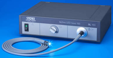 LED Light Source targets remote visual inspection applications.