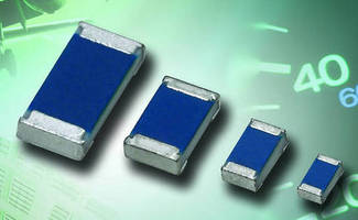 Thin Film Chip Resistors deliver stable performance.