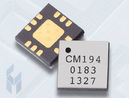 Low-Noise Amplifier delivers more than 20 dB of gain.