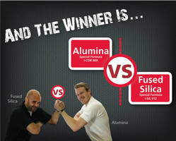 Championship Bout Held at ICI Expo: Alumina vs. Fused Silica