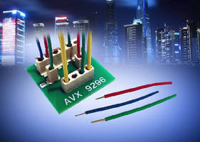 Wire-to-Board Connector suits solid state lighting.