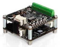 Servo Drive Expansion Board expands analog/digital control.