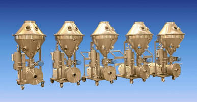 Ross SLIM Powder Injection Mixers with New Hopper Design