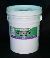 Windshield Washer Fluid is free of petrochemicals.