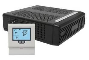 Thermostat System communicates wirelessly via mesh network.