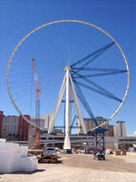J D Neuhaus Hoists Help Build World's Largest Observation Wheel
