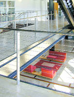 Cable Railings and Fittings allow for unimpaired views.