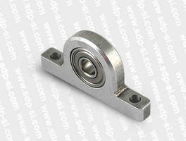 Miniature Pillow Block Ball Bearings from SDP