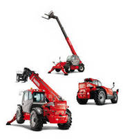 Telescopic Handlers have 9,000 lb rated lift capacity.
