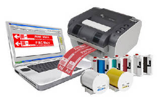 Printer Software System creates pipe markers, tags, labels.