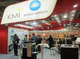 Konica Minolta Leaves a Mark in Pamex 2013