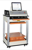 Box Compression Tester performs crushing force, stacking tests.