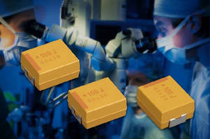 SMD Tantalum Capacitors feature low DC leakage current.