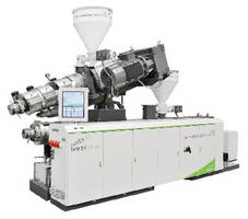 Twin-Screw Extruders target pipe and profile manufacturers.