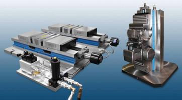 Custom Workholding System improves machining throughput.