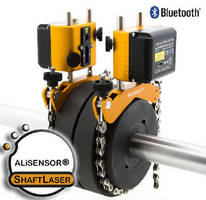 Shaft Alignment System operates with iPad and iPhone.