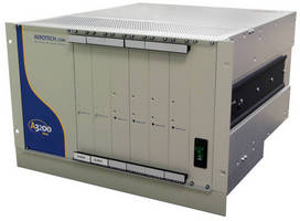 Npaq 6U High-Power Drive Rack Provides up to 30 A for Brush, Brushless or Stepper Motors