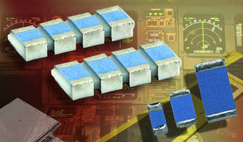 Thin Film Chip Resistor Arrays come in 073, 074 case sizes.
