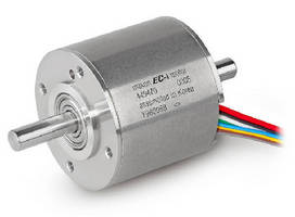 Brushless DC Motors suit robotics, automation applications.