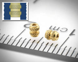 Brass Inserts for Plastics suit compact electronic assemblies.
