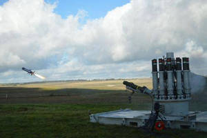 Raytheon, Chemring Group Complete First Live-Fire Test of CENTURION Launcher