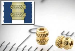 Thru-Threaded Brass Inserts suit compact electronic assemblies.