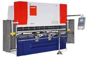 Press Brake features active hydraulic crowning capabilities.