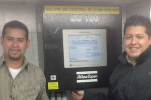 Atlas Copco Compressed Air Systems Save Energy at BIC No Sabe Fallar