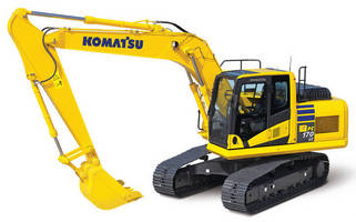 Hydraulic Excavator is powered by EPA Tier 4 Interim engine.