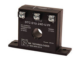 Three-Wire Transducer monitors DC current.