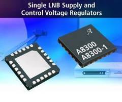 Voltage Regulators provide single LNB supply and control.