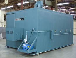 Walk-In Oven reaches temperatures to 500
