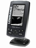 Fishfinder and Chartplotter feature 4.3 in. displays.