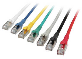 Cat 6A Patch Cables support up to 10 Gbit Ethernet.
