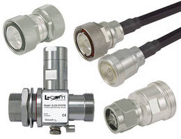 Coaxial Products (7/16 DIN) serve high-power applications.