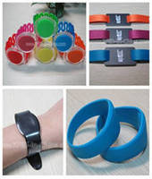 Silicone RFID Wristband increases event/medical efficiency.