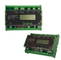Power Monitors measure 3 phases of current and voltage.