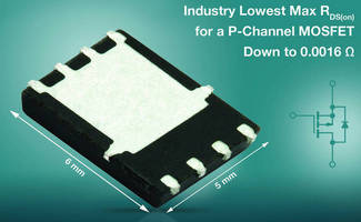 P-Channel MOSFET increases efficiency in mobile computing devices.