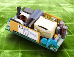 Green 130 W AC/DC Power Supply has open-frame design.